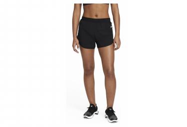Pantalon Corto Mujer Nike Tempo Luxe Split Negro Xs