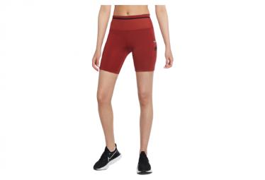 Pantalones Cortos Mujer Nike Epic Luxe Trail Rojo L