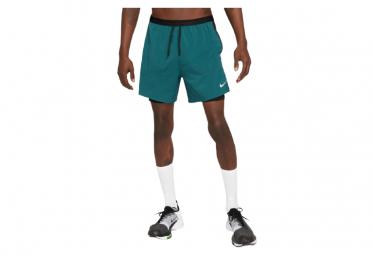 Nike Flex Stride Run Division 2 In 1 Shorts Azul Hombre M