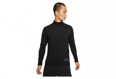 Haut 1/2 zip Nike Dri-Fit Element Run Division Noir Homme