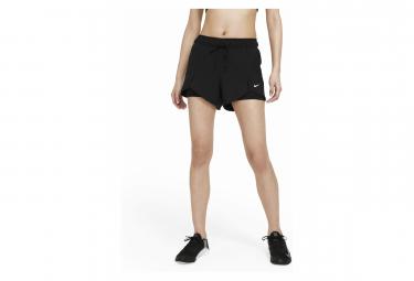 Pantalon Corto Nike Flex Essential 2 En 1 Para Mujer Negro L