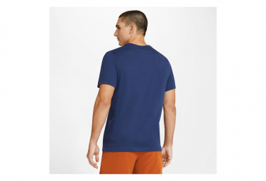 Maillot manches courtes Nike Dri-Fit Training HWPO Bleu Homme