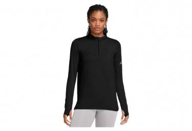 Haut 1/2 zip Nike Element Trail Noir Femme