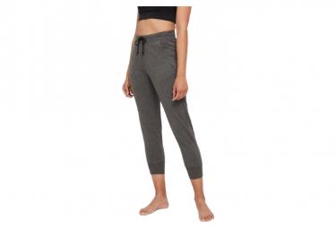 Pantalones Nike Yoga French Terry Fleece 7 8 Mujer Negras Xs