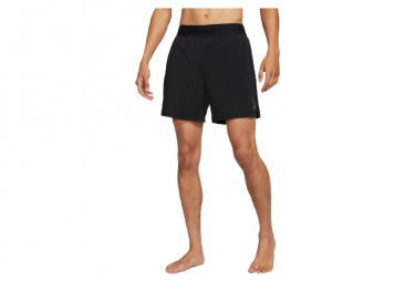 Short 2-en-1 Nike Dri-Fit Yoga Noir Gris Homme
