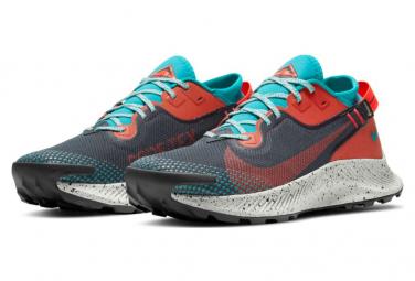 Chaussures Nike Pegasus Trail 2 GTX Gris Rouge Homme
