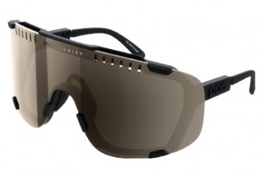 Gafas Poc Devour black silver Clarity Trail