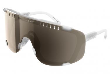 Poc Devour   Cristal Transparente Marron   Espejo Plateado   Gafas Blancas