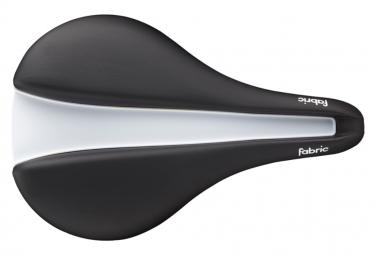 Fabric Line-S Elite Flat Saddle Black / White