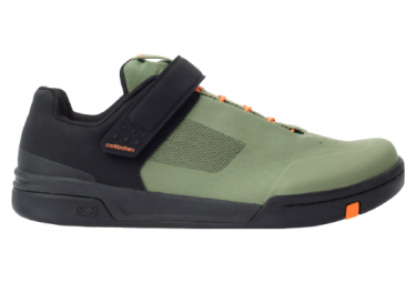 Crankbrothers Stamp Speedlace Green / Orange MTB Shoes 2021