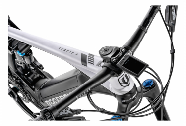 VTT Électrique Tout-Suspendu Mondraker Crafty R Sram GX/NX Eagle 12V 625 Wh 29'' Noir Blanc 2021