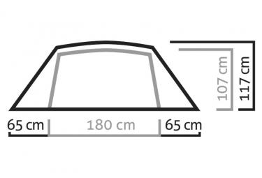 Tente Auto-portante 3 Saisons Salewa Denali III Tent Vert