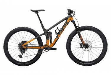 VTT Tout-Suspendu Trek Fuel EX 9.7 29'' Sram GX/NX Eagle 12V Lithium Grey/Factory Orange 2021
