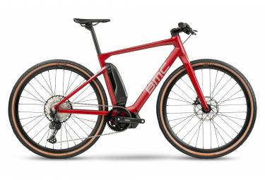 Vélo de Ville Électrique Sportif BMC Alpenchallenge AMP Cross One Shimano Deore 12V Rouge 2021