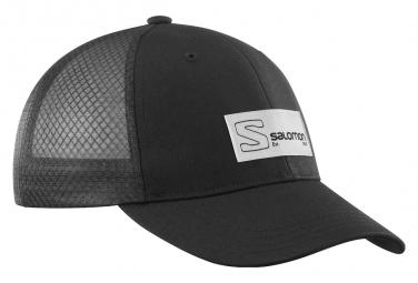 Casquette Salomon Trucker Curved Noir Unisex