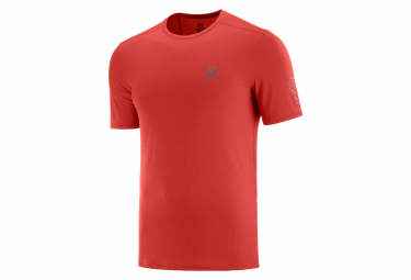 Salomon XA Trail Short Sleeve Jersey Red Men