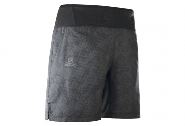 Salomon XA 7 Short Black Gray Men