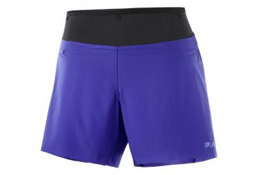 Shorts Mujer Salomon Sense Blue M