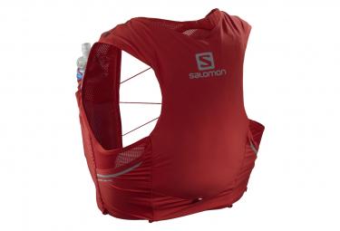 Chaqueta De Hidratacion Salomon Sense Pro 5 Set Rojo Hombre M