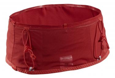 Cinturon Salomon Sense Pro Rojo Unisex L