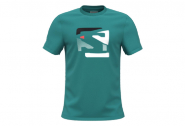 Camiseta Salomon Outlife Graphic Verde Para Hombre M