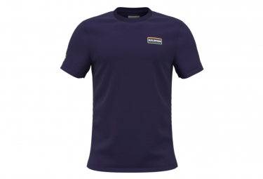Camiseta Salomon Outlife Graphic Heritage Azul Para Hombre S