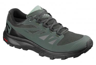 Chaussures de Trail Salomon OUTline GTX Vert / Noir