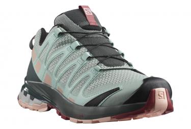 Chaussures de Trail Femme Salomon XA PRO 3D V8 Vert / Gris
