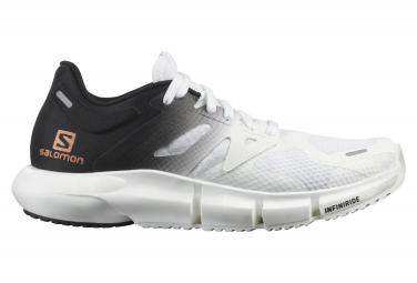 Zapatos Salomon Predict2 Blanco Negro Mujer 40