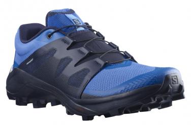 Chaussures de Trail Salomon Wildcross Bleu / Noir