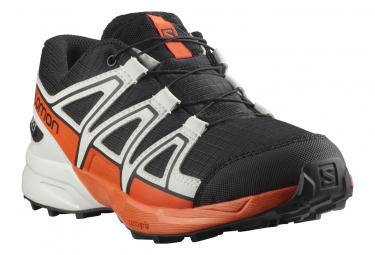 Chaussures Enfant Salomon Speedcross CSWP Noir / Rouge