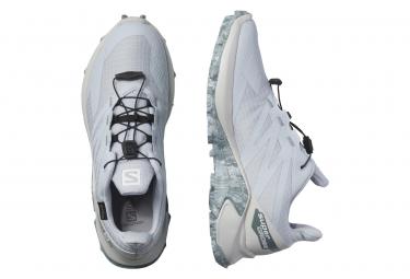 Chaussures de Trail Femme Salomon Supercross Blast GTX Bleu