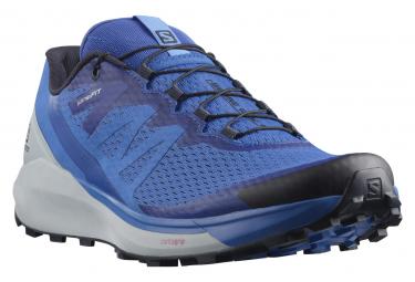 Chaussures de Running Salomon Sense Ride 4 Bleu / Blanc