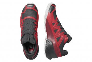 Chaussures de Trail Salomon Speedcross 5 Rouge / Noir