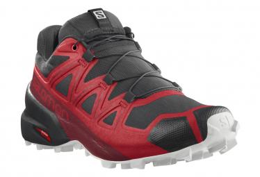 Zapatillas Salomon Speedcross 5 para Hombre Rojo / Negro