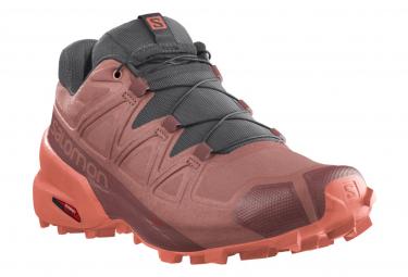 Salomon Speedcross 5 Rosa Trail Zapatillas Mujer 40