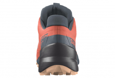 Chaussures de Trail Femme Salomon Speedcross 5 GTX Orange / Gris