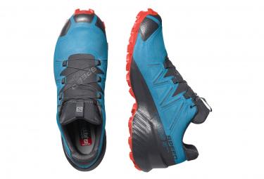 Chaussures de Trail Salomon Speedcross 5 GTX Bleu / Noir