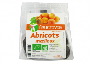Image of Abricots moelleux bio 200 g