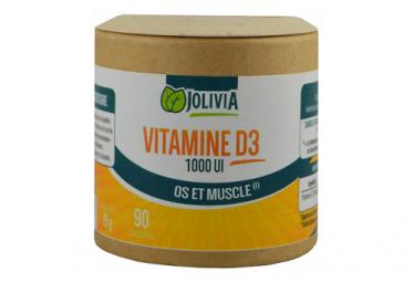 Vitamine D3 1000 UI - 90 capsules