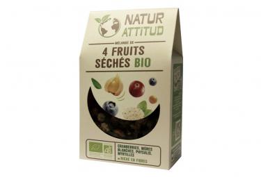 Mélange de 4 Fruits séchés Bio - 200 g