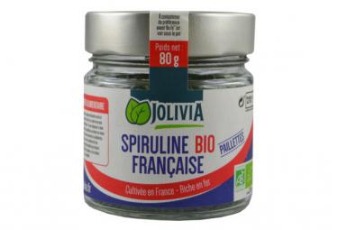 Spiruline française Bio paillettes - 80 g