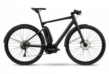 Vélo de Ville Électrique Fitness BMC Alpenchallenge AMP City One Shimano Deore 10V Gris / Noir 2021