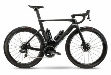 BMC Timemachine Road 01 Two Bicicleta de carretera Sram Force eTap AXS 12S 700 mm Gris Carbón 2021