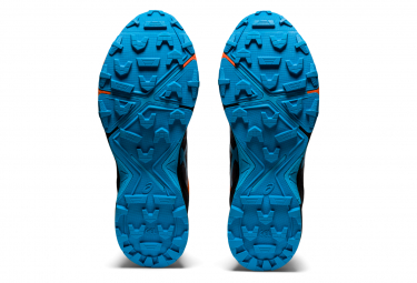 Chaussures de Trail Asics Gel Fujitrabuco Sky Noir / Orange