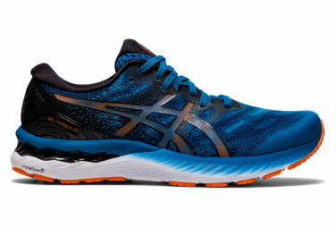 Asics Gel Nimbus 23 Running Shoes Blue Black