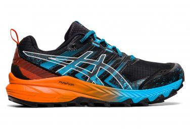 Chaussures de Trail Asics Gel Trabuco 9 Noir / Bleu