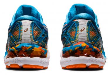 Chaussures de Running Asics Gel Nimbus 23 Noosa Bleu / Multi-couleur