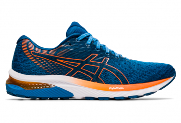 Asics Gel Cumulus 22 Blue Orange Running Shoes