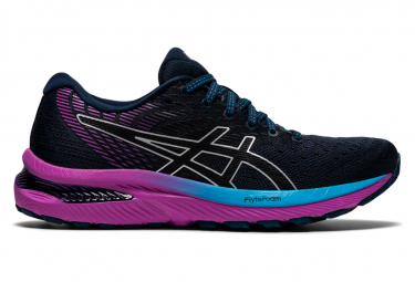 Asics Gel Cumulus 22 Women's Running Shoes Blue Purple